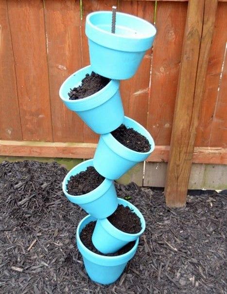 Из чего сделать кашпо своими руками для сада